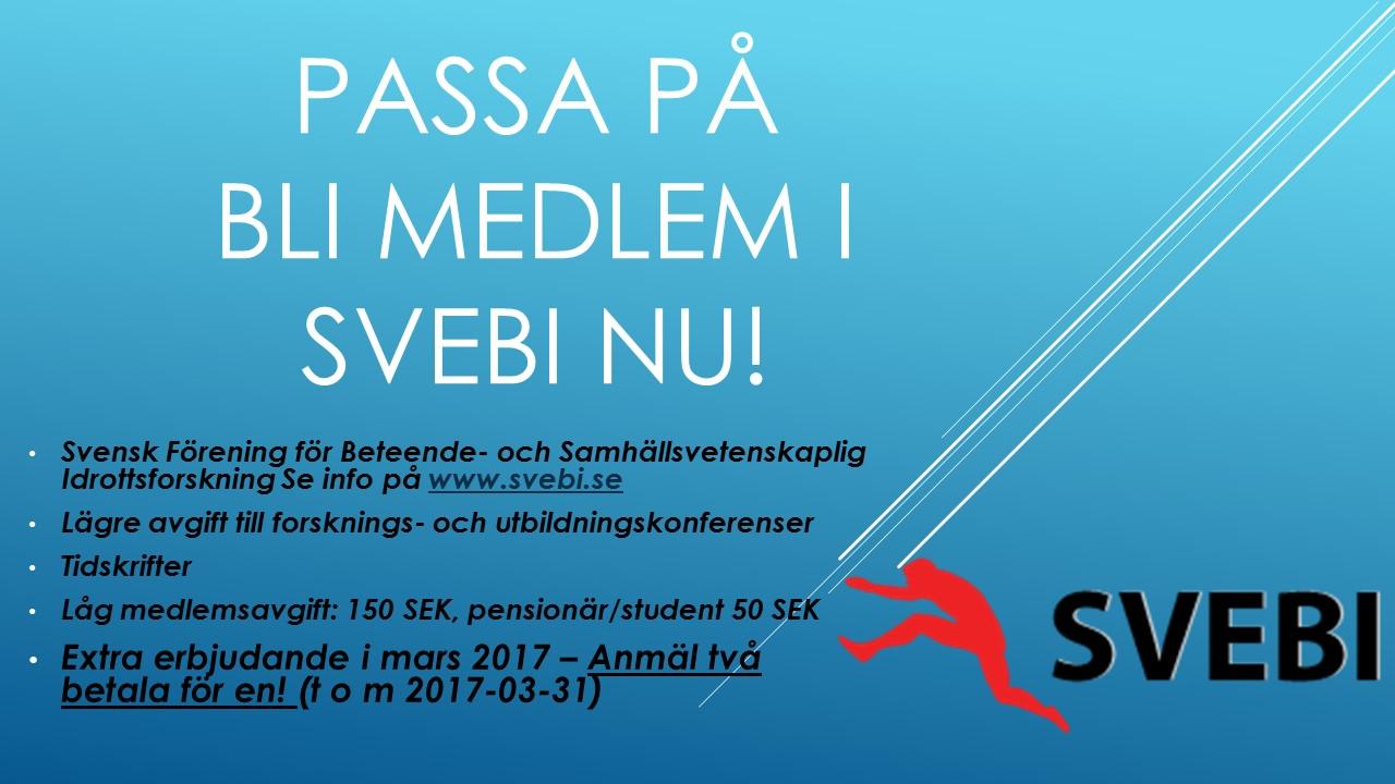 svebi medlem 2017